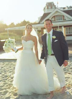 Love the preppy wedding in Rhode Island.