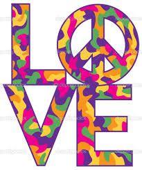 Resultado de imagem para simbolo paz e amor hippie
