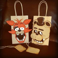 Five 5 Nights At Freddy's Foxy ONLY 3D Gift by ConnieHertzCraftz