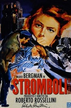Stromboli, Rossellini's first time direction of Ingrid Bergman, met resistance in the United States that was attributed to the scandal of their relationship.  However, this bleak picture of a marriage that should not have been, and a woman's resistance to a soul-destroying culture (and its violence toward women) on an isolated Italian island, was not a subject movie-goers wanted.  Nor was this a subject anyone had wanted to face until decades later.- Donata Guerra