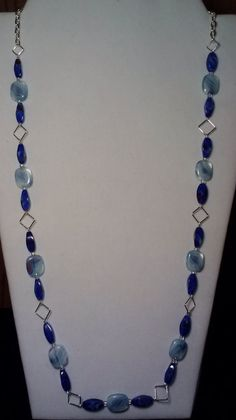 Handmade Beaded Necklace with Light by KimsSimpleTreasures on Etsy, $20.00