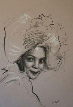 Teresa Oaxaca - Drawing