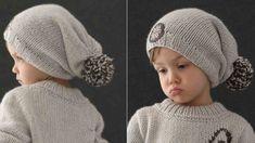 Bonnet Crochet, Diy Crochet, Crochet Hats, Baby Couture, Winter Hats, Knitting, Point Mousse, Actus, Garance