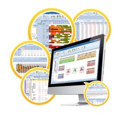 Hotel management software.
