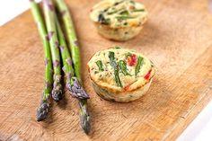 Muffin Tin Mania: Asparagus Frittata's