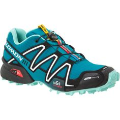 Salomon Trail Running shoe. Perfect for workouts in the woods.