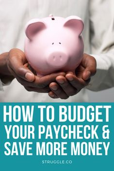 How to Budget Your Paycheck and Save More Money Earn More Money, Ways To Save Money, Money Saving Tips, Money Hacks, Money Tips, Living On A Budget, Frugal Living, Saving For College, Making A Budget
