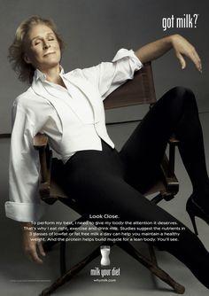 "got milk ads   Glenn Close ""Got Milk?"" Ad Campaign; Glen Close ""Got Milk?"" Ad"