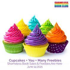 Cupcakes + You + Many Freebies 🧁 Shameless Book Sales & Freebies are here!