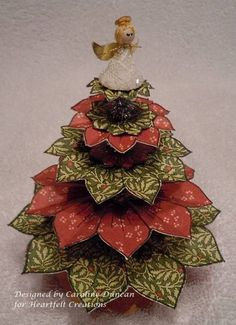 Heartfelt Christmas Tree by NC_stamper - Cards and Paper Crafts at Splitcoaststampers