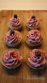 Summer Fruit Cupcakes Fruit Cupcakes, Cupcake Cakes, Summer Fruit, Desserts, Van, Drink, Food, Tailgate Desserts, Deserts