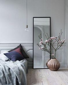Blush coloured vase