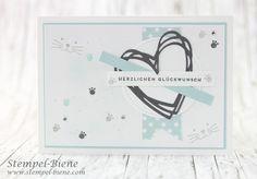 Schnurrige Geburtstagsgrüsse  #catlove #stampinup #foxyfriends #klareaussage #geburtstagskarte http://www.stempel-biene.com/2017/02/geburtstagskarte-fur-katzenliebhaber.html?m=1