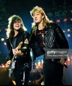 Jon Bon Jovi & Joe Elliott