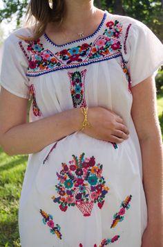 Kate Spade Bow Bracelet, Vintage Mexican Embroidered Dress