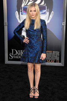 "Chloe Moretz in Stella McCartney, ""Dark Shadows"" LA Premiere, 2012"