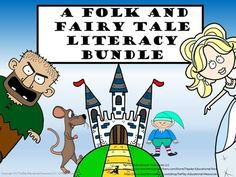 Once upon a time... there was a folk and fairy tale bundle!This bundle includes the following lessons linked to Common Core State Standards.    Cinderella by Brothers Grimm & Fairy Tale Literacy includes 30 game cards, key, 2 award cards and activity links.