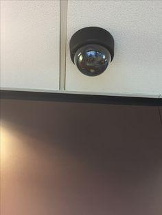 Een beveiligingscamera op Station Sloterdijk