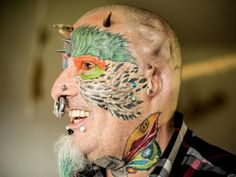 Ted Richards Is The One Who Hacked Off His Ears For Looking Like A Parrot | BEAUTIFULSHARE