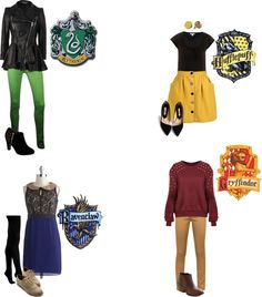 """""""Harry Potter and the Fabulous Outfits."""" by emily-bochette on Polyvore"""