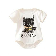 Baby's Batman Short-Sleeve Cotton Bodysuit - PatPat
