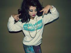 White Pullover/Hoodie #Imaginee / StoneColdBabe