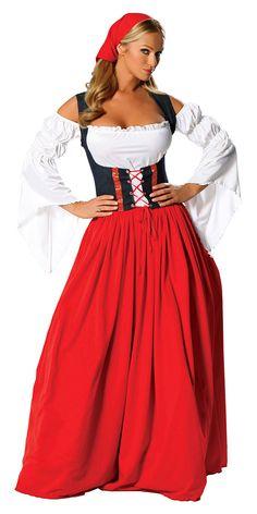 Guten Tag! Swiss Miss Adult Costume - German and Oktoberfest Costumes