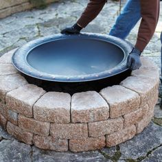 Build this quick and easy firepit for tons of family fun! #DIY #Springiscalling