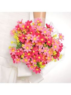 Tulle Wrapped Blushing Pink Peony Wedding Flower for Wedding Party MS61GI286