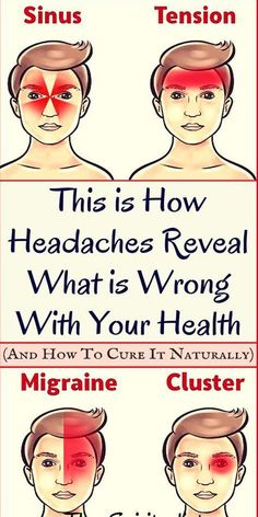 This is How Headaches Reveal What is Wrong With Your Health!