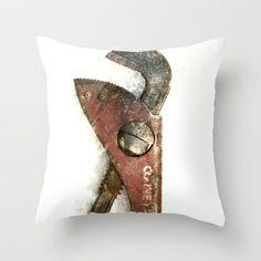 Gape Throw Pillow by Fernando Vieira
