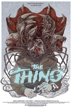 The Thing (1982) (R) 1hr49min Stars: Kurt Russell, Wilford Brimley, T.K. Carter, Keith David Director: John Carpenter Writers: Bill Lancaster, John W. Campbell Jr. Story: A research team off the coast of Antarctica discover a sentinel creature which assumes the role of anything that can be killed, and soon, they are determined in finding who is real in this situation Critics Praise: 81% Audience Praise: 92%
