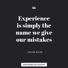 Mistakes are a fact of life especially in the business world! So dont view yours as limitations. You learned something from the experience after all! So take what youve learned and do something awesome with it!