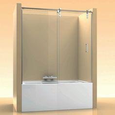 Precios de Mampara de bañera corredera de acero inoxidable - Ideal Mamparas