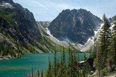 Colchuck lake, alpine lakes wilderness...50x better in person...