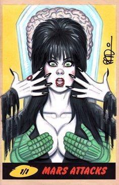 Mars Attacks Elvira
