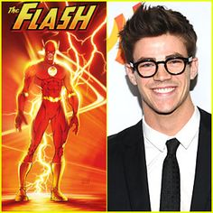 1, The Flash. 2, Grant Gustin as The Flash. 3, CW made this possible.