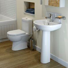 ceramica naples bathroom suite 1 taphole with short projection toilet