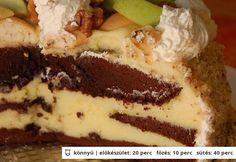 Almás csokitorta Kuktalánytól