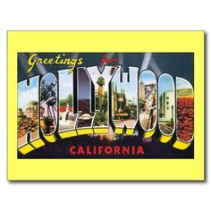 20 best greetings from california postcards images on pinterest greetings from hollywood california postcard m4hsunfo