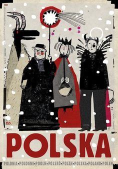 Polska Plant Illustration, Graphic Illustration, Artist Painting, Painting & Drawing, Polish Posters, Christmas Carol, Christmas Decor, Typography Prints, Travel Posters