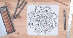 Cómo dibujar mandalas, ¡hazlo tú mismo!