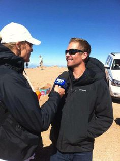 Paul Walker at Pike's Peak