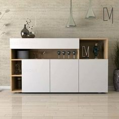 When it comes to selecting living room furniture, there are always certain pieces that seem to be essential. Living room cabinets are one of such furniture pieces. Tv Unit Furniture, Cool Furniture, Furniture Design, Plywood Furniture, Outdoor Furniture, Living Room Designs, Living Room Decor, Crockery Cabinet, Interior Design Tools