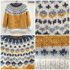 Fair Isle Knitting Patterns, Knit Patterns, Best Knots, Icelandic Sweaters, Knitting Projects, Color Combinations, Knits, Ravelry, Knit Crochet