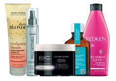 A lista de produtos essenciais para manter o cabelo loiro