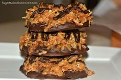 "Homemade Samoa Cookies from ""hugs & cookies xoxo"""