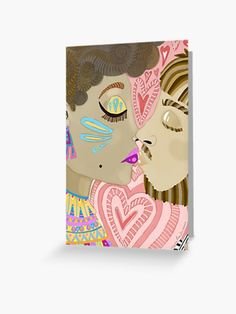 'Kiss Me' Greeting Card by Cherie Roe Dirksen Valentine Day Cards, Valentines, Romantic Cards, Canvas Prints, Art Prints, Kiss Me, Anniversary Cards, Greeting Cards, Holiday