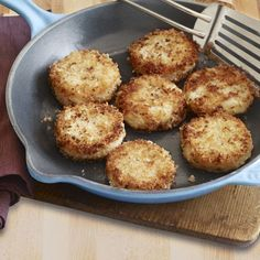 Crispy Rosemary Potato Cakes from Delish.com #vegetables #grain #myplate