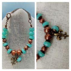 Pulsera Vera Turquoise Bracelet, Beaded Bracelets, Casual, Jewelry, Jewlery, Jewerly, Pearl Bracelets, Schmuck, Jewels